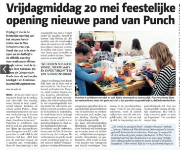 Openingsfeest Punch Workshops