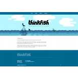 Thinkfish Website Ontwerp