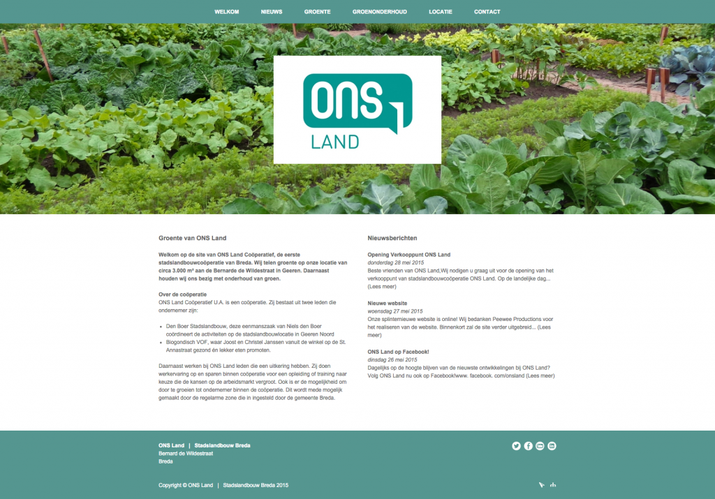 Website Ons Land